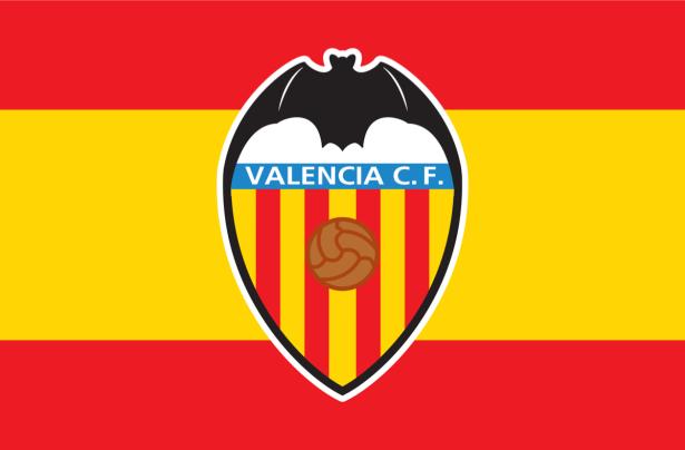 Прапор ФК Валенсія (football-00050)