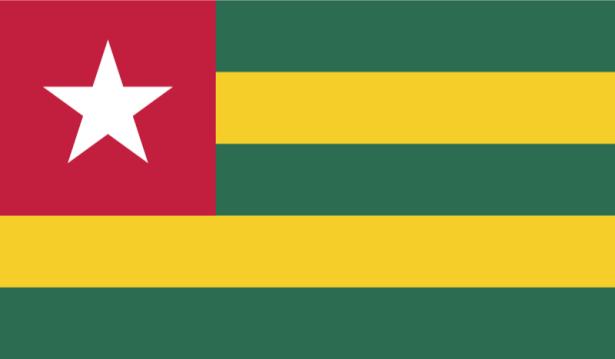 Прапор Тоголезької Республіки (world-00115)