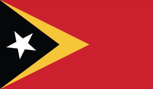 Прапор Східного Тимору (world-00224)