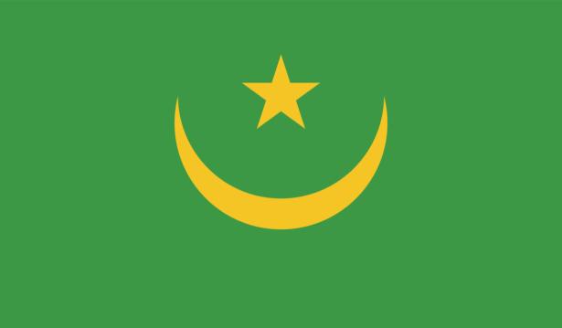 Прапор Мавританії (world-00264)