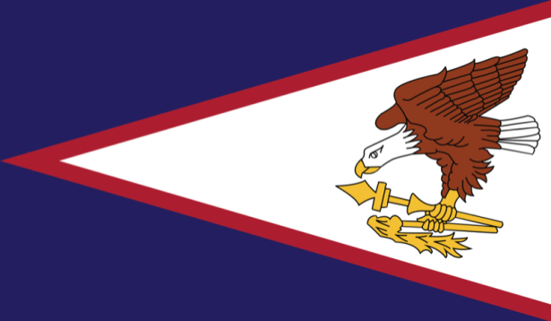 Прапор Американського Самоа (world-00155)
