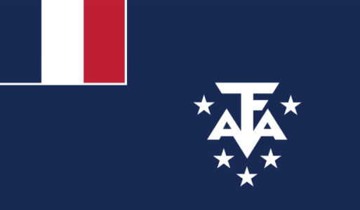 Прапор Французьких Південних і Антарктичних територій (world-00240)
