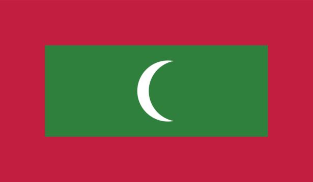 Прапор Мальдів (world-00259)