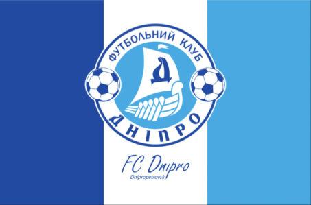 прапор фк дніпро традиційний (football-00002)