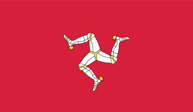 прапор острова Мен (world-00076)