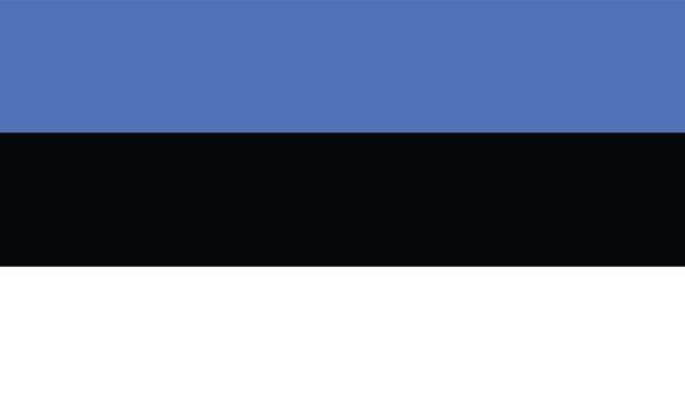 Прапор Естонії (world-00232)
