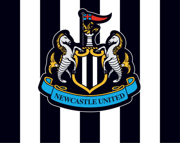 Прапор ФК Ньюкасл Юнайтед (football-00038)