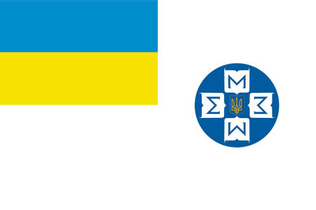Прапор Державної служби статистики України (flag-120)