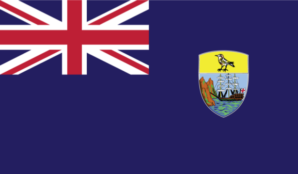 прапор островів Святої Єлени (world-00032)