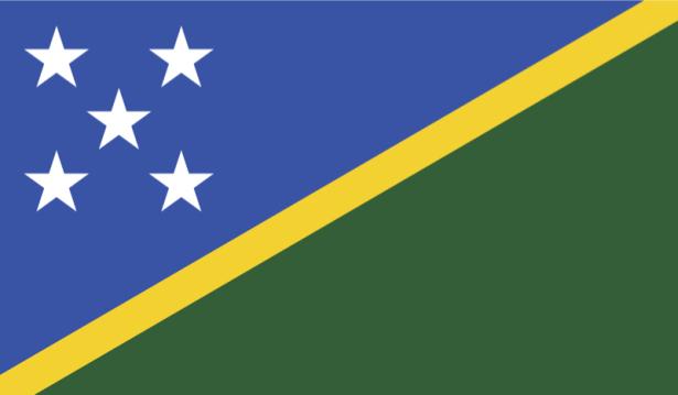 прапор Соломонових Островів (world-00053)