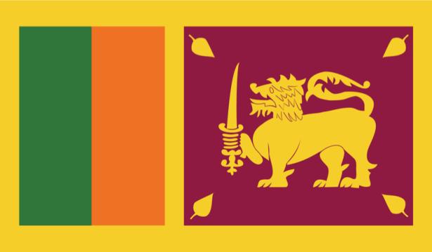 прапор Шрі-Ланки (world-00102)
