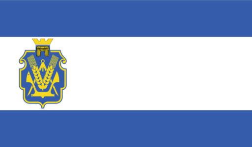 прапор Херсонської області (flag-00007)