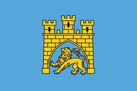 Прапор міста Львів (flag-00088)