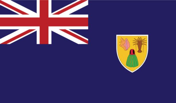 Прапор островів Теркс і Кайкос (world-00125)