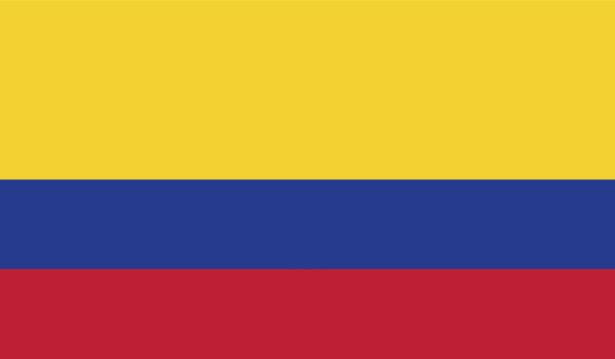 Прапор Колумбії (world-00207)