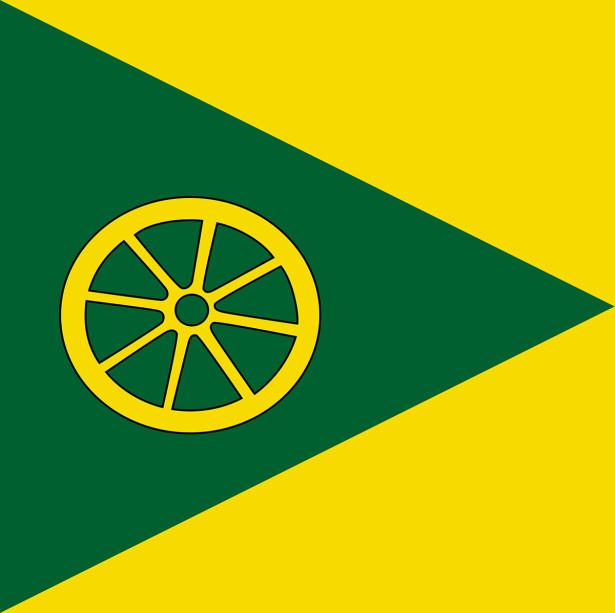 Прапор села Дмитрівка (flag-137)
