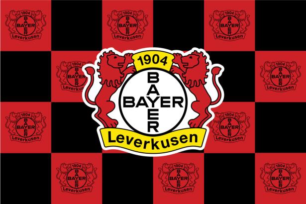 Прапор ФК Баєр Леверкузен (football-00058)
