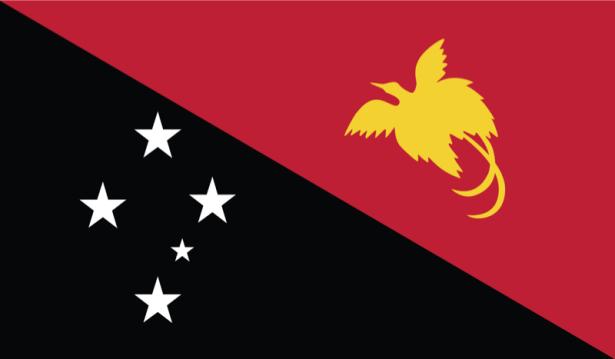 прапор Папуа-Нова Гвінея (world-00017)