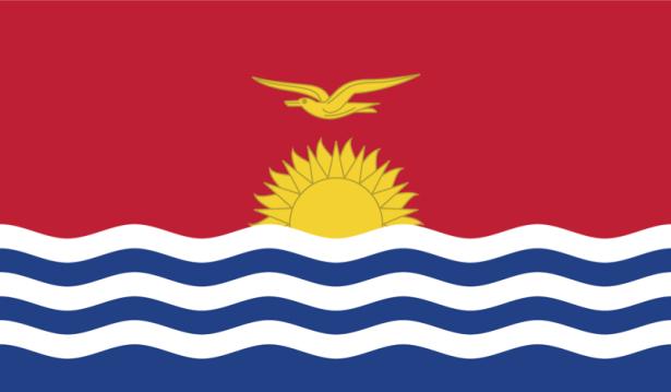 прапор Кірибаті (world-00092)