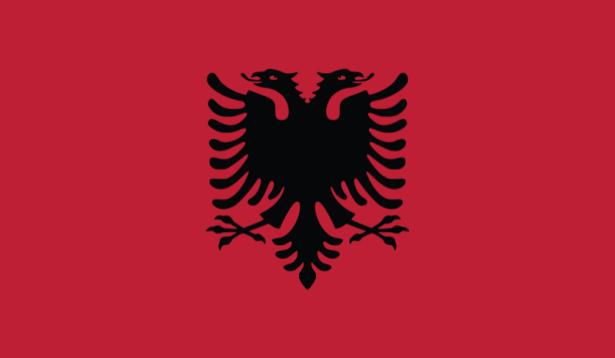 прапор Албанії (world-00151)