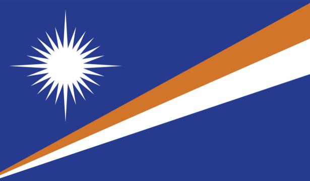 Прапор Маршаллових Островів (world-00263)