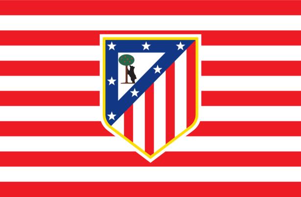 Прапор ФК Атлетіко Мадрид (football-00049)