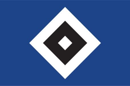 Прапор ФК Гамбургер Шпорт Ферайн (football-00056)