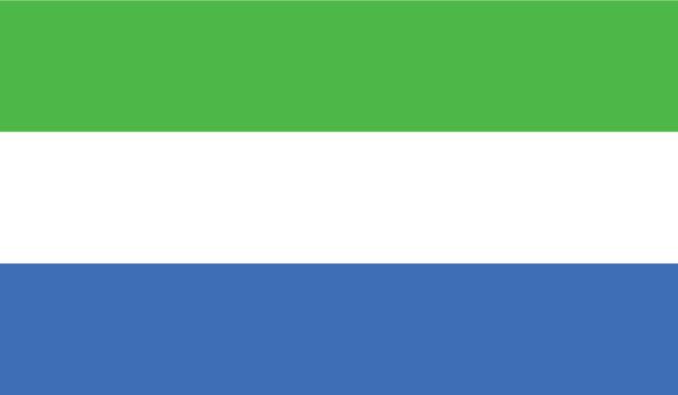 прапор Сьєрра-Леоне (world-00048)