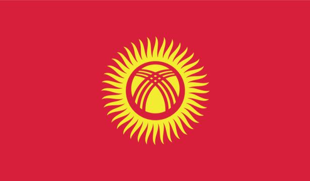 прапор Киргизстану (world-00099)