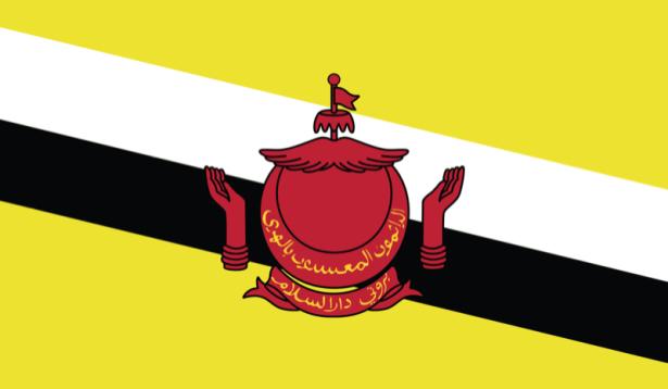 Прапор Брунею (world-00187)