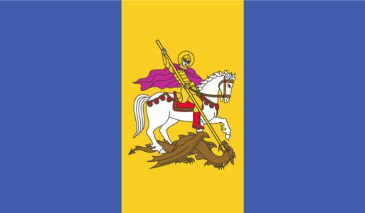 прапор Києвської області (flag-00019)