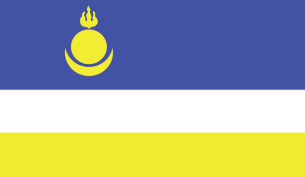 Прапор Бурятії (world-00191)