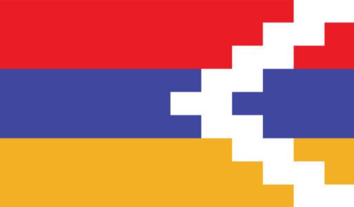 Прапор Нагірно-Карабаської Республіки (world-00277)