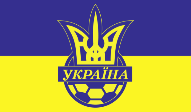 прапор збірної України з футболу (football-00001)