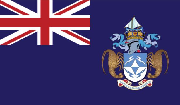 прапор Трістан-да-Кунья (world-00120)