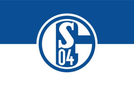 Прапор ФК Шальке 04 (football-00060)