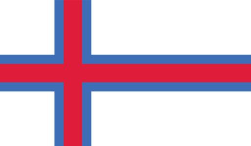 Прапор Фарерських островів (world-00235)