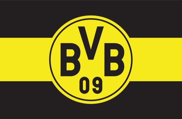 Прапор ФК Боруссія Дортмунд (football-00054)