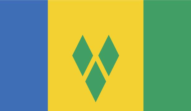 прапор Сент-Вінсент і Гренадини (world-00037)