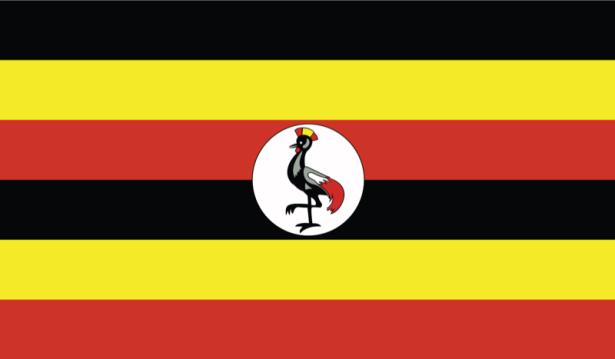 прапор Уганди (world-00129)