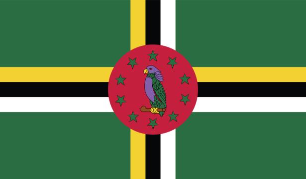 Прапор Домініки (world-00222)