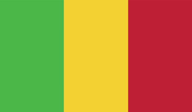 Прапор Малі (world-00260)
