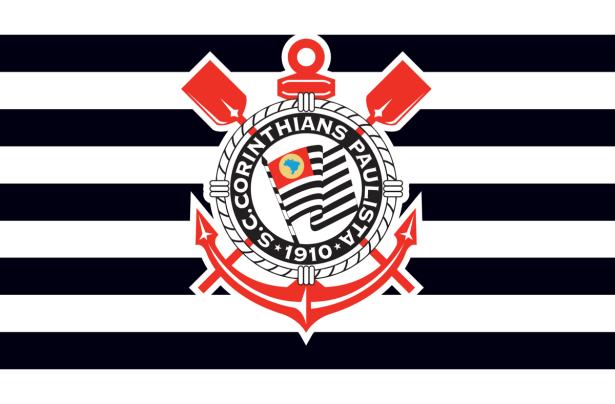 Прапор ФК Корінтіанс (football-00069)