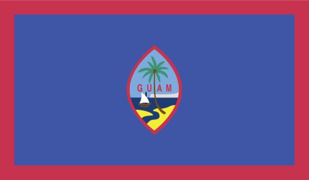 Прапор Гуаму (world-00008)
