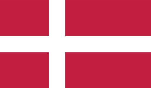 Прапор Данії (world-00220)