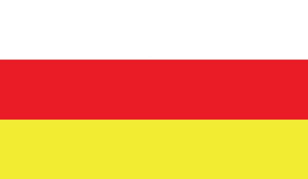 Прапор Південної Осетії (world-00289)