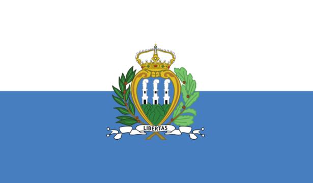 прапор Сан-Марино (world-00040)