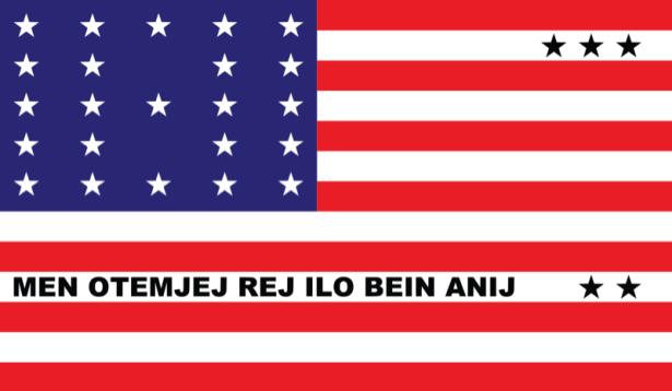 прапор Атолл Бікіні (world-00178)