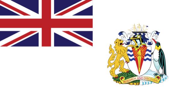 Прапор Британської антарктичної території (world-00184)