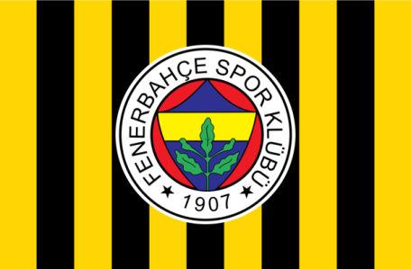 Прапор ФК Фенербахче (football-00090)
